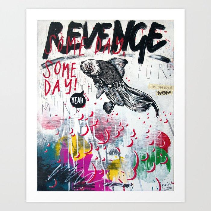 Revenge Art Print