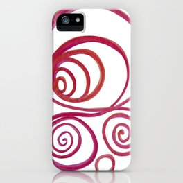 256 iPhone Case