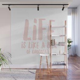 Life is Chocolate Wall Mural