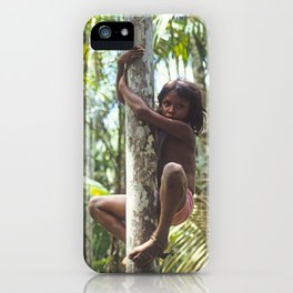 Climbing Trees iPhone Case