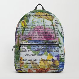 Flowery Prose Backpack