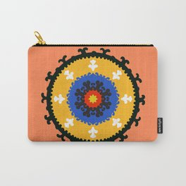 Bold and bright beauty of suzani patterns ver.8 Carry-All Pouch