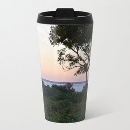 When the Night Sky Touches the Ocean Travel Mug