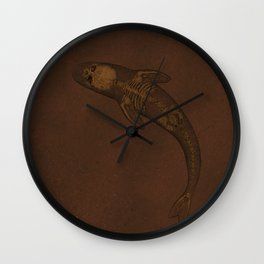 Dead Fish Wall Clock