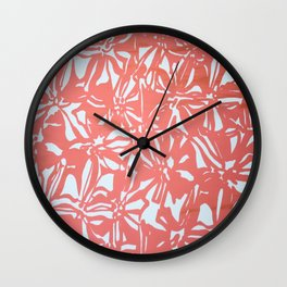 Fire - Wild Veda Wall Clock