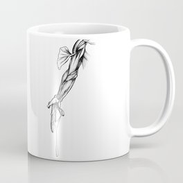 De Humani Corporis Fabrica - Arm Coffee Mug