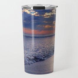 Peace of Mind Cayucos Beach Travel Mug