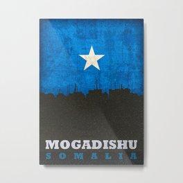 Mogadishu Somalia Skyline Metal Print