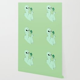 alien s2 brocolli Wallpaper