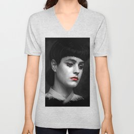 Rachel Blade Runner, I am the business Unisex V-Neck
