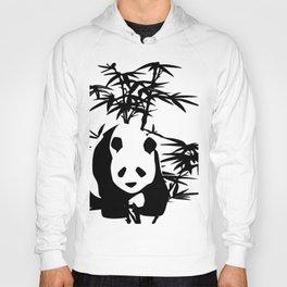 Giant Panda Bear and Bamboo Tree Hoody