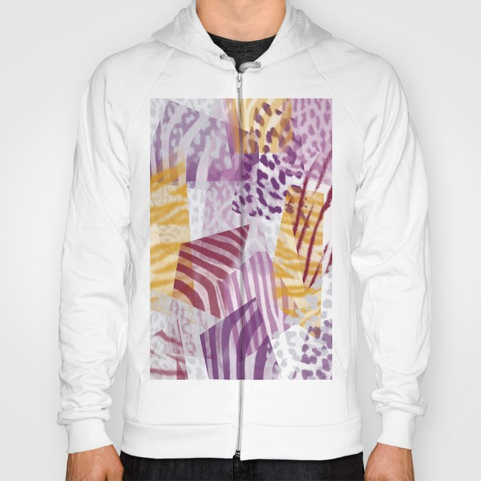 Abstract safari pattern Hoody