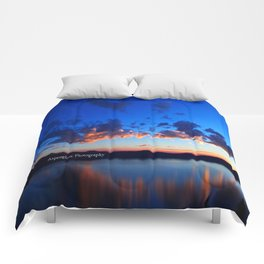 Crater Lake NP Comforters