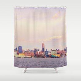 Perfect Day - New York City Skyline Shower Curtain