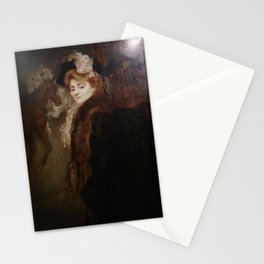 Louis Anquetin - Woman in the Street Stationery Cards