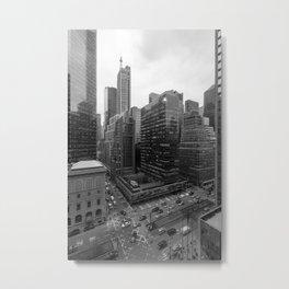 Lever House Metal Print