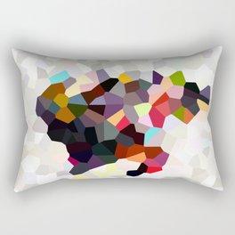 Spain Landscape Geometric Abstract Rectangular Pillow