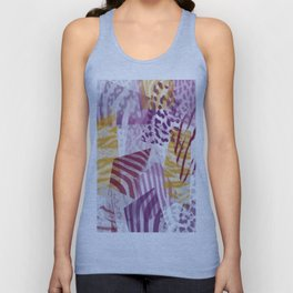 Abstract safari pattern Unisex Tank Top