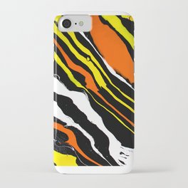 Line of Fire - Diagonal iPhone Case