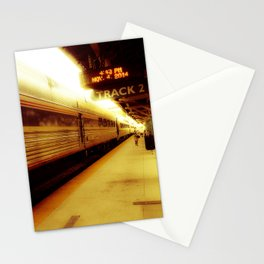 Train Track 2 Stationery Cards