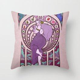 Princess of Space Throw Pillow