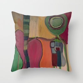 Guitar Boy Throw Pillow