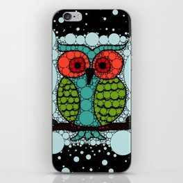 Curiosity Never Killed an Owl iPhone Skin