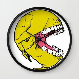 Ancient Pac-man Wall Clock
