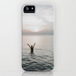 Sunset Embrace iPhone Case