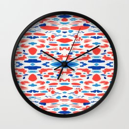 Desert Map Wall Clock