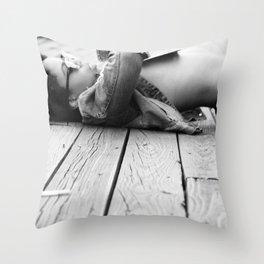 fh Throw Pillow