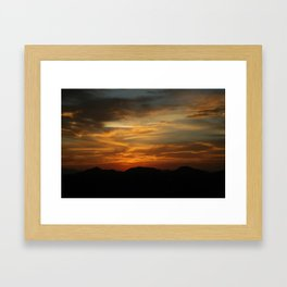 what do you think? Framed Art Print