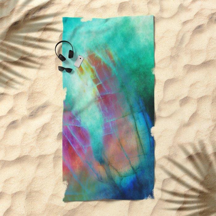 α Vulpeculae Beach Towel