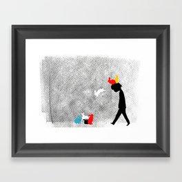 magical rebellion Framed Art Print