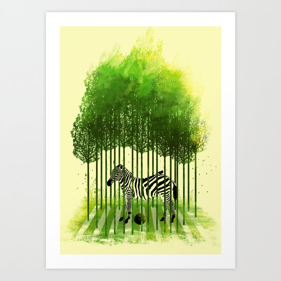 prisoner of nature Art Print