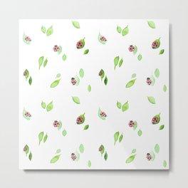 Ladybugs Metal Print