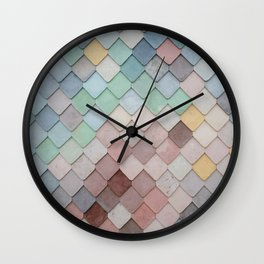 Urban Mosaic Wall Clock