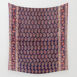 Afshar Persian Kerman  Antique Rug Print Wall Tapestry