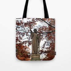 My Lady Among the Leaves Tote Bag