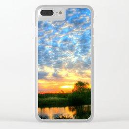 November East Texas Sunrise Clear iPhone Case