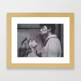 Catherine et Jim Framed Art Print