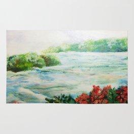 Serene - Niagara Falls Rug