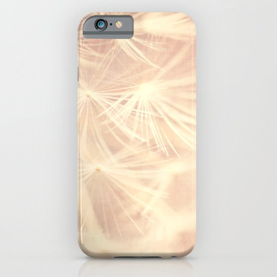 All is Full of Love. dandelion seeds photograph iPhone & iPod Case
