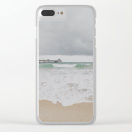 Storm Clouds Over the Sea Clear iPhone Case