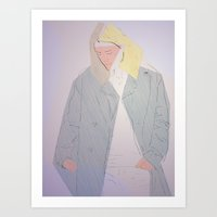 lost but found. Art Print