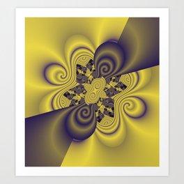 fractal geometry -102- Art Print