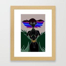 Ragyou Kiryuin Framed Art Print
