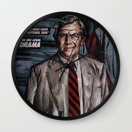 MATLOCK - TV Show Comic Poster Wall Clock