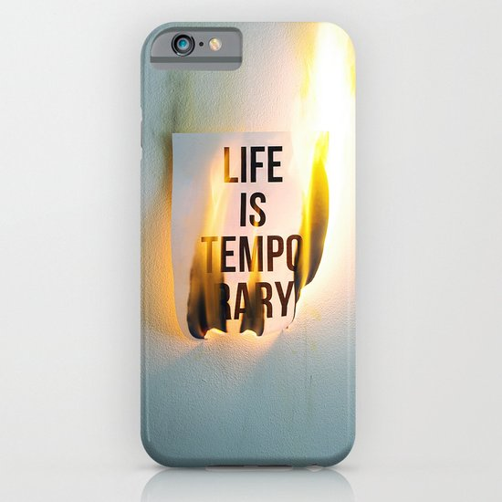 Temporary iPhone & iPod Case