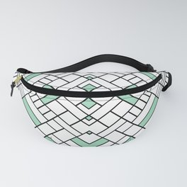 PS Grid 45 Mint Fanny Pack